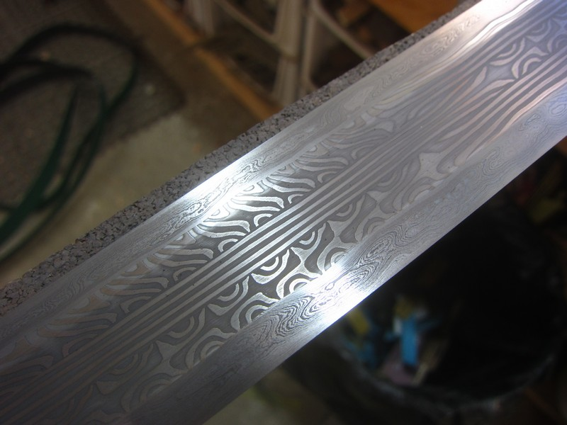 Pattern Welded Sword WIP Page 40 BladeForums Delectable Pattern Welded Sword